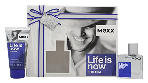 Mexx Life is Now for Him EDT 30 ml + SG 50 ml (man)