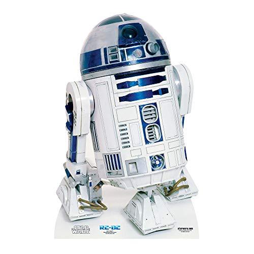 Pappaufsteller von Stars, R2-D2-Figur