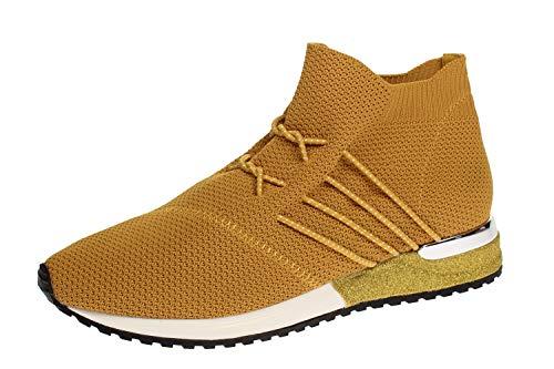 La Strada 1705464 Sneaker Ocre Knitted 37