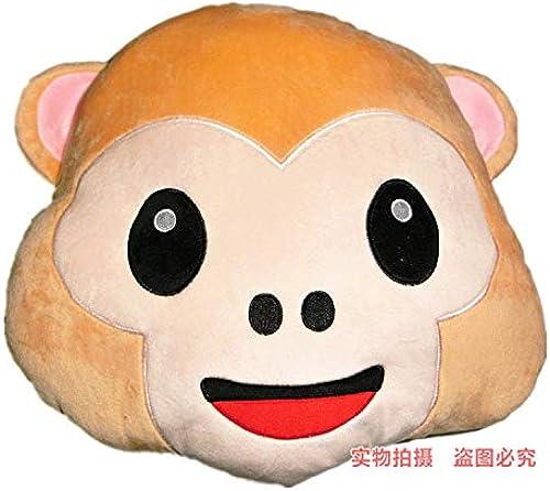 DONGER Lustiger Ausdruckpuppe Poopkissenkissenkissen-Geburtstagsgeschenk des Kreativen Karikatur Emoticon-Spielzeugs, 35Cm L eln-Affekissen, 30-39 cm