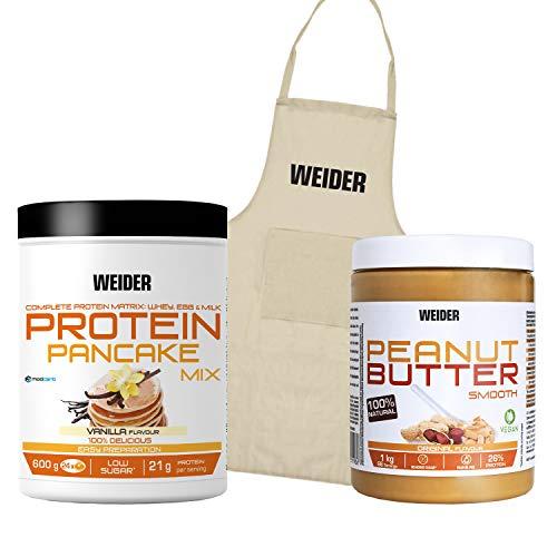 Weider Pancake Vanilla Plus Peanut Butter Plus Apron, 1.700 kg