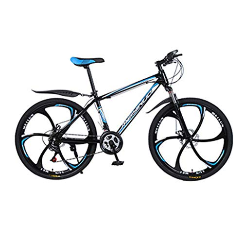 pan hui 26-Inch Mountain Bike with Full Suspension, 21-Speed Folding Bike, Non-Slip, Fixed-Position Positioning, Male and Female Student Speed Double Disc Brake Adult Bicycle