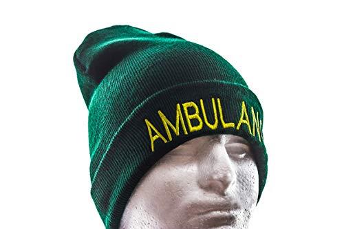 PolAmb Products Vert Ambulance Woolly Bonnet en Laine