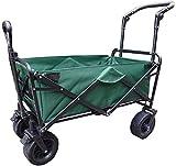 Yongqin Carrito De Picnic Yongqin Carrito De Jardín Plegable para El Hogar Carrito De Compras Multifunción Resistente para Acampar Al Aire Libre Camión De Tracción