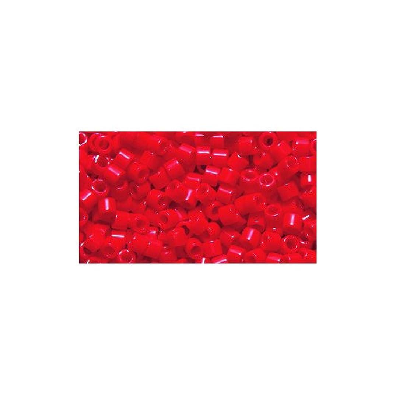 Miyuki Delica Seed Bead 10/0 DBM0723, Opaque Dark Cranberry, 9-Gram/Pack