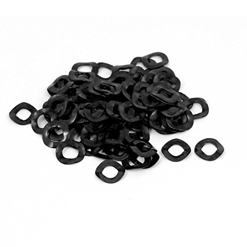 uxcell 20 Pcs 8mm x 13mm x 0.3mm 304 Stainless Steel Wave Spring Washer for Screw Bolt