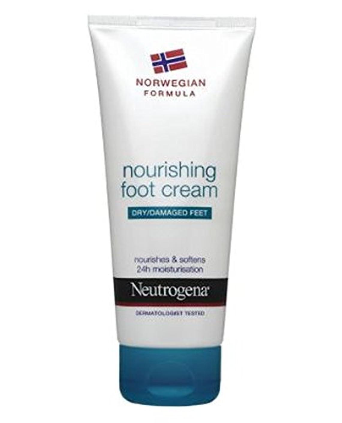 観察現実的使役Neutrogena Norwegian Formula Nourishing Foot Cream For Dry Or Damaged Feet 100ml - 100ミリリットル乾燥または損傷した足のためのニュートロジーナノルウェー式栄養フットクリーム (Neutrogena Norwegian Formula) [並行輸入品]