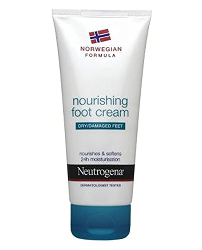 マリン窓を洗う火曜日Neutrogena Norwegian Formula Nourishing Foot Cream For Dry Or Damaged Feet 100ml - 100ミリリットル乾燥または損傷した足のためのニュートロジーナノルウェー式栄養フットクリーム (Neutrogena Norwegian Formula) [並行輸入品]