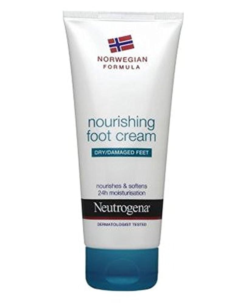 アサート割れ目雨のNeutrogena Norwegian Formula Nourishing Foot Cream For Dry Or Damaged Feet 100ml - 100ミリリットル乾燥または損傷した足のためのニュートロジーナノルウェー式栄養フットクリーム (Neutrogena Norwegian Formula) [並行輸入品]