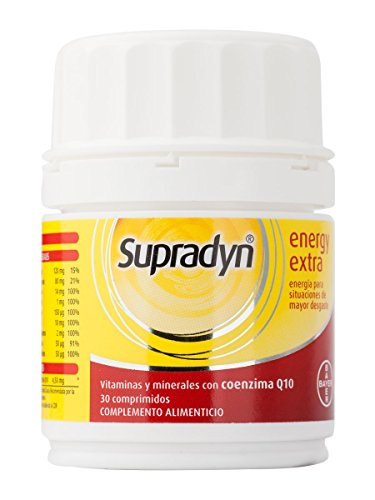 BAYER supradyn energy extra 30 comprimidos