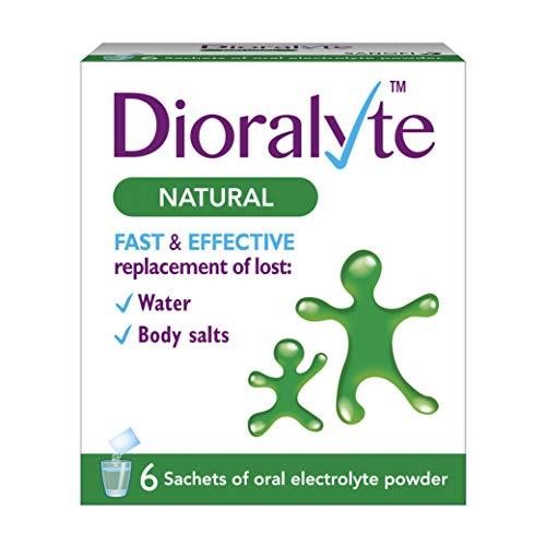 Dioralyte Natural Medication, 6-Count