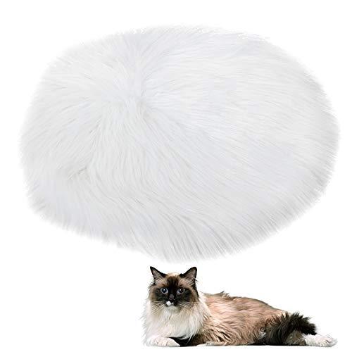 Dibiao Haustier Heizkissen Heizdecke Konstante Temperatur Wasserdicht Anti-Kriechende USB-Schnittstelle Hund Katze Kleines Haustier (Weiß)