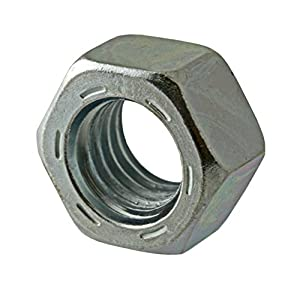 Hot-Dipped Galvanized Finish ASME B18.2.2 35//64 Thick 15//16 Width Across Flats 5//8-11 Thread Size Pack of 25 Steel Hex Nut Grade 2