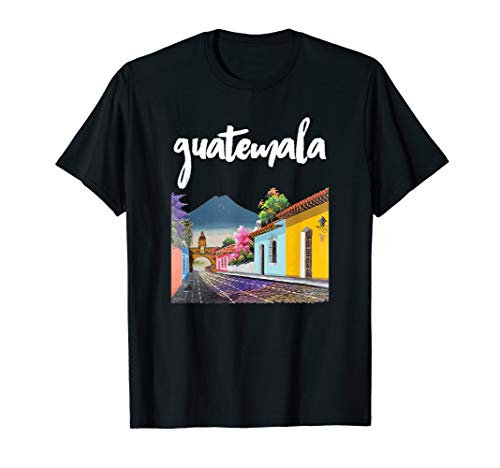 Guatemala Antigua Kaffee Chapin Quetzal Maya Guate Chamaco T-Shirt