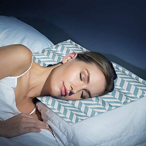 Watforbest Gel-kussen, verkoelend, 40 x 30 cm, kussen voor koeling in de zomer, voor betere slaap, koud