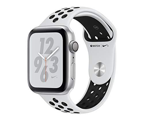 Apple Watch Nike+ Series 4 Reloj Inteligente Plata OLED GPS (satélite) - Relojes Inteligentes (OLED, Pantalla táctil, GPS (satélite), 18 h, 30,1 g, Plata)
