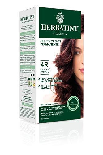 Herbatint 4R Copper Chestnut Permanent Herbal Hair Colour Gel 135ml