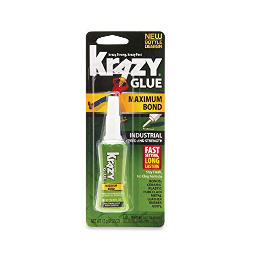 Elmer's KG48948MR Krazy Glue(R) Maximum Bond Industrial Formula-15g