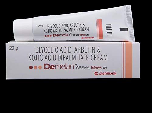 7 Packs of 15g Demelan Cream Glycolic Acid Arbutin,Kojic Hyper Pigmentation 15G Skin Lightening