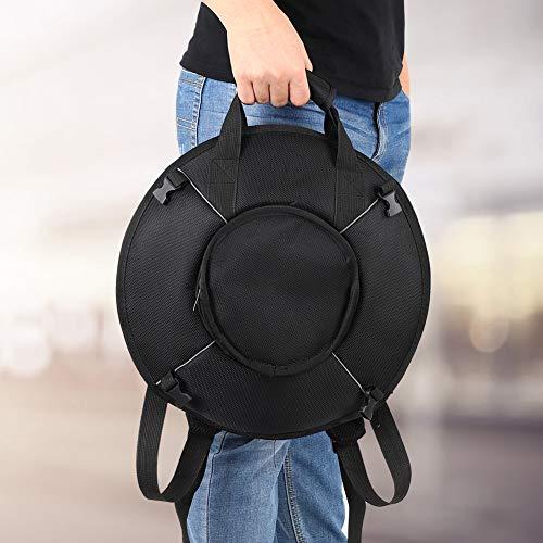 Con bolsa de almacenamiento Tongue Drum Uu Handpan, para principiantes, para amantes de la música, para meditación y yoga