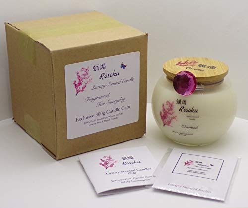 Charmed Luxury Scented Candle Gem