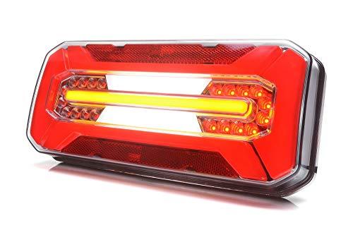 Preisvergleich Produktbild LED Rückleuchte LKW PKW Anhänger 6 Funktionen 12V-24V 1290L / P