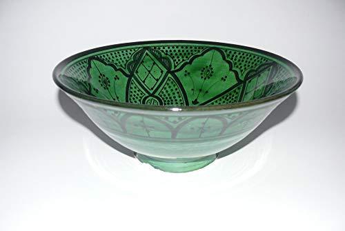 cuenco de cerámica Oriental marroquí de la ensalada de fruta muesli Ø 30 cm - 905257-0118