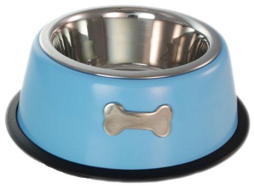 Buckingham Hundenapf mit Einer Schüssel, 0,45 Liter, Himmelblau