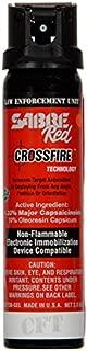 Sabre Red Crossfire Pepper Spray Gel 3 oz Expire 2024
