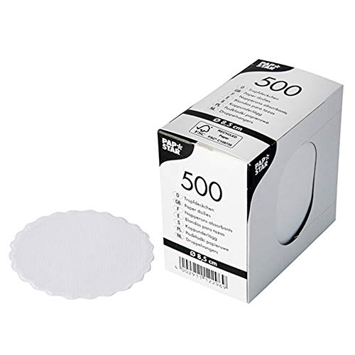 Sottobicchieri di carta, rotondi, Ø 8,5 cm, in vetro, 2500 pezzi