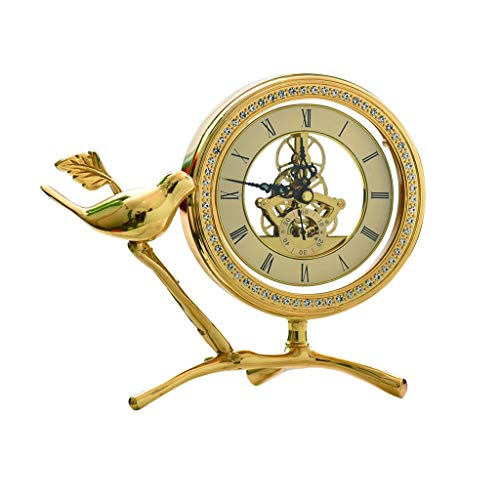 jinyi2016SHOP Table Clock Light Luxury/creative Desk Clock/fashion Table Clock/simple Style/living Room, Study Room/9.1 Inches/mantel Clock Desk Clock