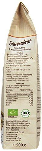 Bauckhof Vollkorn-Bauernbrot-Backmischung (500 g) – Bio - 2