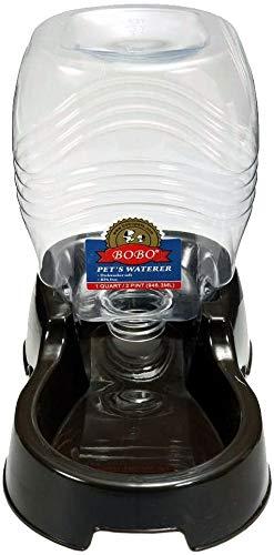 Automatischer Wasserspender für Haustiere, Haustier-Wasserspender, einfach zu reinigender Kunststoff, automatische Bewässerung für Katzen und Hunde