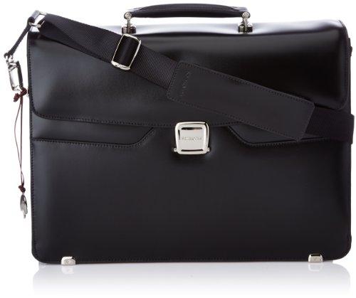 Samsonite S-Thetic Lth Briefcase 2 G+Flap 16.4 nero