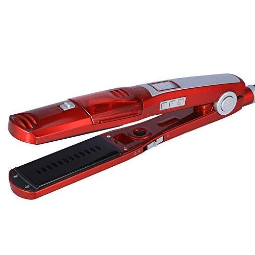 Kemei - Plancha de pelo y rizador 2 en 1 eléctrico, con pantalla LED de temperatura, 120 – 200 °C, temperatura ajustable, para profesionales o domésticos