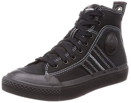 Diesel Damen S-astico Mid Lace Hohe Sneaker, Schwarz (Black T8013-Pr012), 41 EU