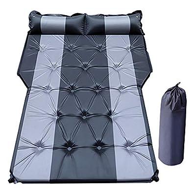 PGMARO Car Automatic Air Mattress - Portable Car Automatic Air Bed Fit for SUV Trunk Travel Air Bed SUV Air Mattress Camping Outdoor Mattress with Storage Bag (Black)