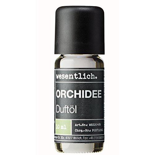 Duftöl Orchidee - Aromaöl u.a. für Duftlampe und Diffuser - Premium Raumduft von wesentlich. (10ml)