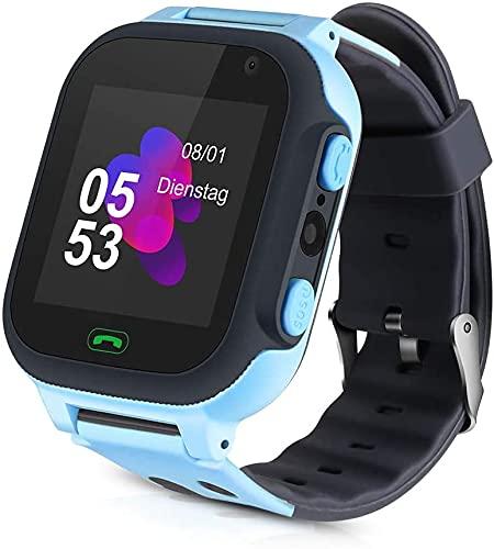Smartwatch Kinder, Kinder Smartwatch Mit SIM Karte, Smartwatches Telefon LBS Mit Musik 7...