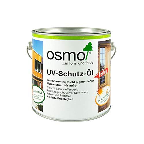 Osmo 429D UV-Schutz-Öl mit aktiven Inhaltsstoffen–naturfarben, 2,5 Liter
