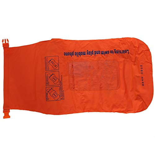 Zhat Pistola de Aire para natación de PVC, Life Bouy Inflable, Chaleco Salvavidas Inflable Manual Ligero, para Nadar