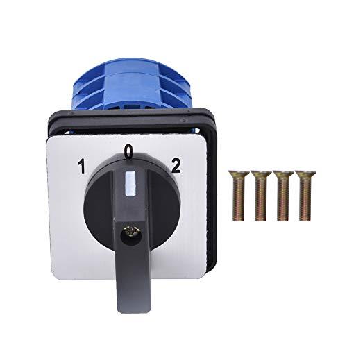 YUN Interruptor De Cambio Universal 690v 25a 3 Posición Cambio De Leva Giratorio 28-25/3 D0723