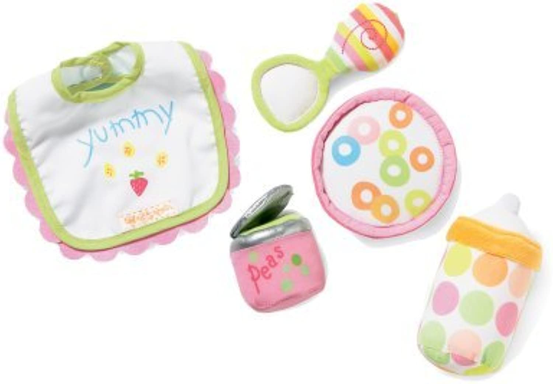 Manhattan Toy Baby Stella Feeding Set Accessory for Nurturing Dolls by Manhattan Toy