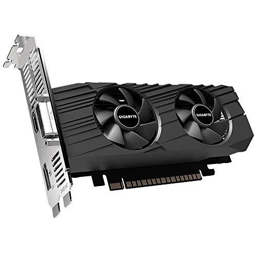 Gigabyte GeForce GTX 1650 OC Low Profile 4G Graphics Card, 2X Windforce Fans, 4GB 128-Bit GDDR5, Gv-N1650OC-4GL Video Card