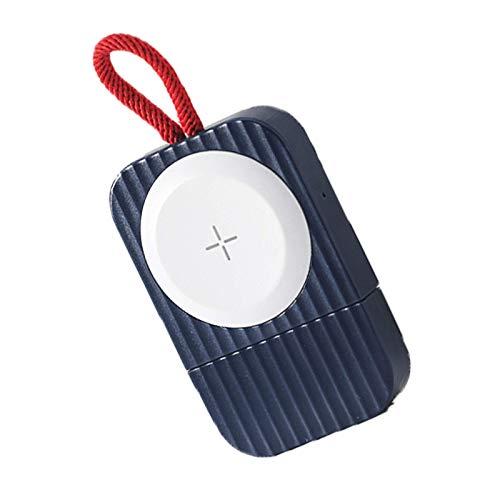 El último soporte de carga inalámbrico ultrafino para reloj magnético, cargador USB, adecuado para carga inalámbrica de adsorción automática portátil Apple Watch, con cordón