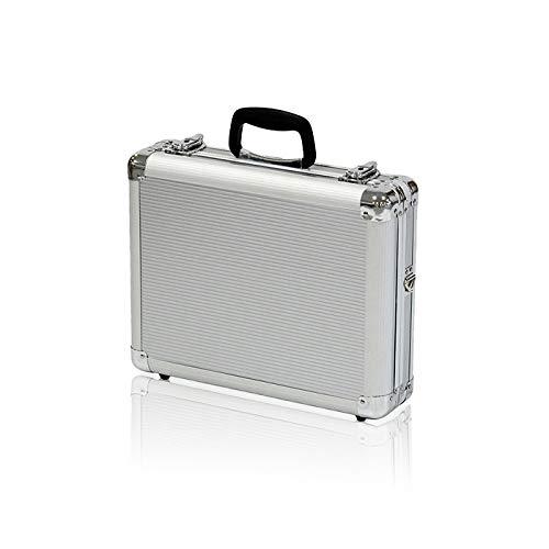 アルミツ−ルケ−ス 軽量 丈夫 アルミ アタッシュケース 収納ボックス ベルト付 工具箱 工具 収納 道具箱 工具入れ バッグ かばん おしゃれ