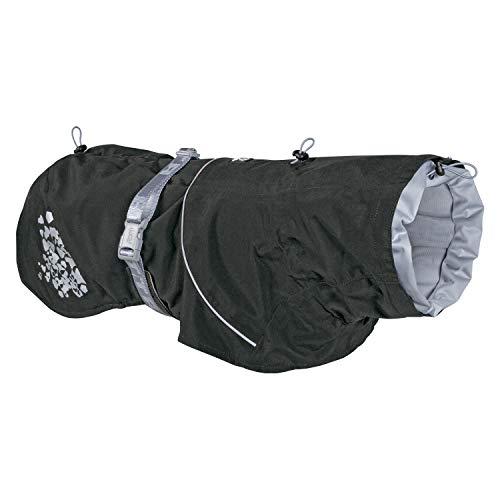 Hurtta Monsoon Coat, Dog Raincoat, BlackBerry, 28 in