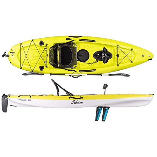 Hobie Mirage Passport 10.5' Pedal Fishing Kayak Seagrass Green