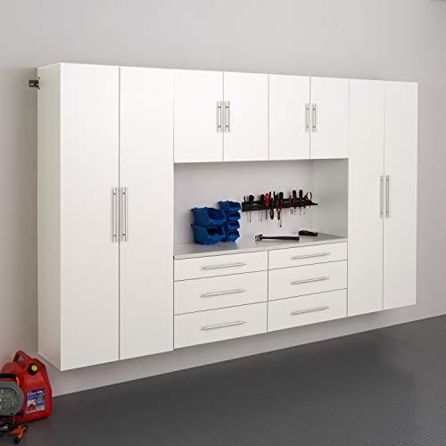 """Prepac 120"""" I-6pc HangUps Storage Cabinet, Set I - 6 pc, White"""