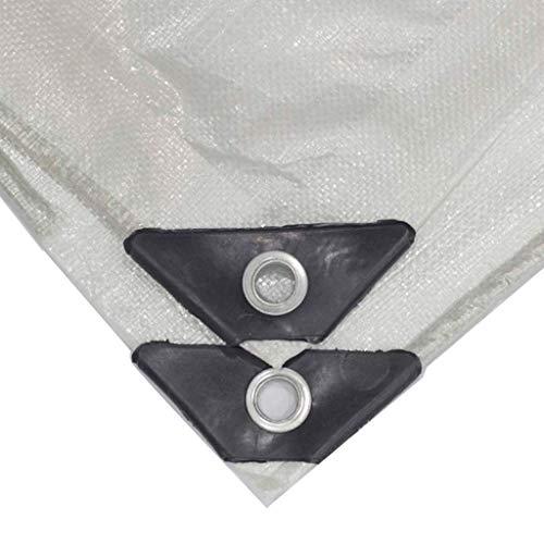 LYLSXY Lonas, Toldos Carpa Lona Gruesa Transparente a Prueba de Lluvia de Tela Impermeable Anti-Envejecimiento Hoja de Protección Solar Anti-Ultravioleta de Plástico de Polietileno de Efecto Invernad